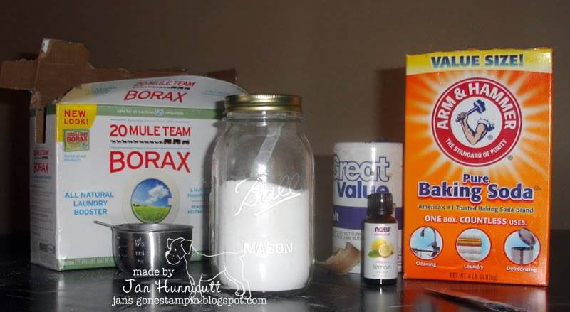 Make Your Own Dishwasher Detergent