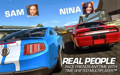 Real Racing 3 APK real people