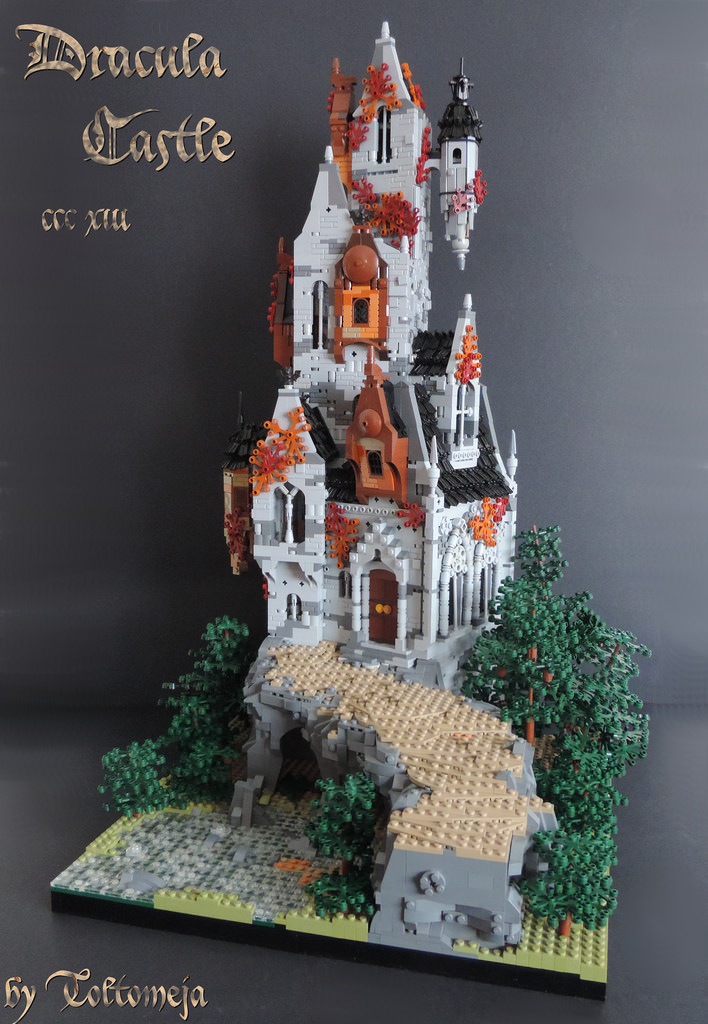 Tiles or Studs: Dracula Castle by Toltomeja