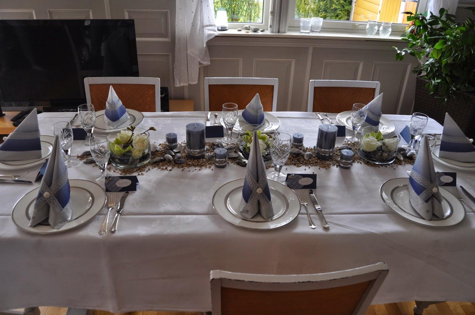 enkel bordpynt tiln konfirmant gutt