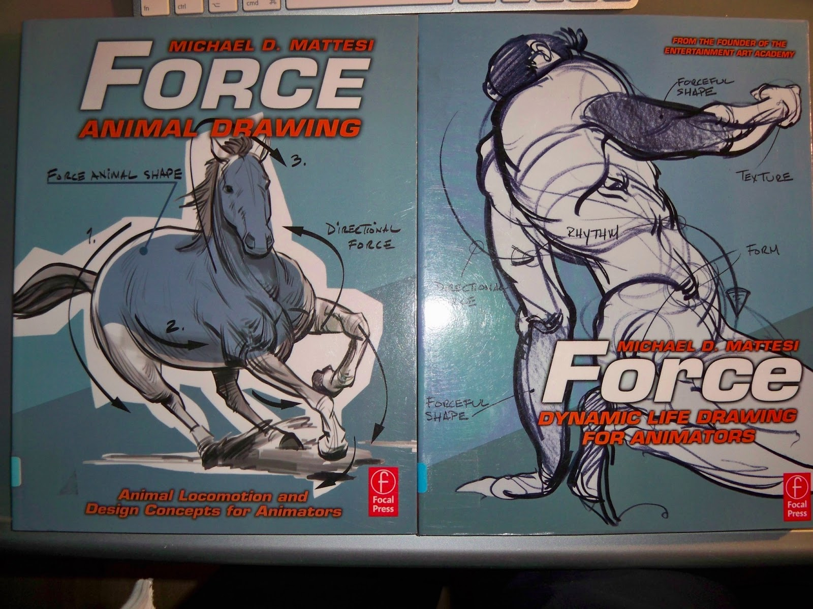 Force Book Drawing The Book is Called Force