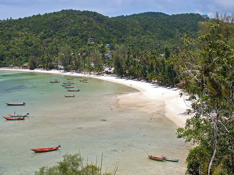 Photo de plage à Koh Pha Ngan en Thaïlande