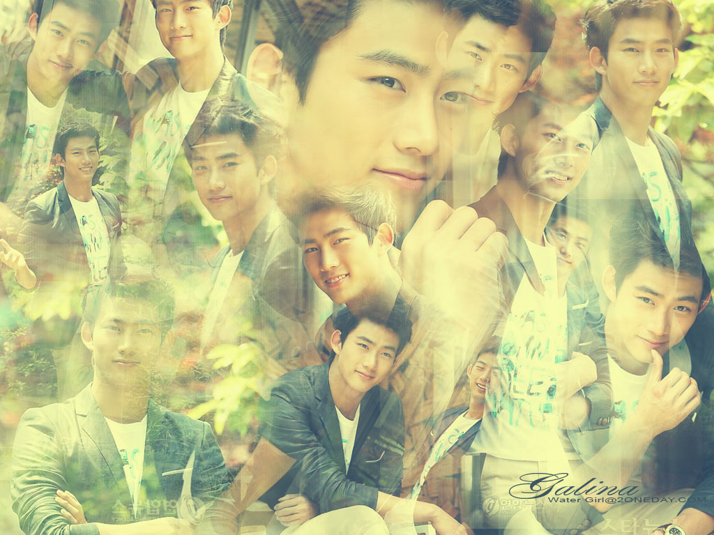 SG: 2PM Taecyeon WALLPAPERS