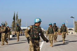 Pasukan Perdamian Indonesia TNI Latihan Bersama Tentara Srilangka
