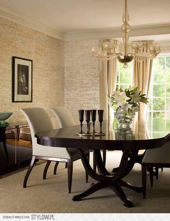 Modern classic sto y art d co for Comedor wallpaper