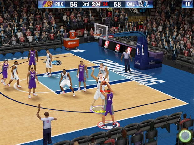2 player basketball games computer