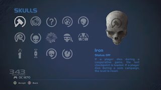 Halo Anniversary Skulls