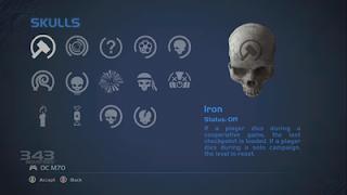 Halo Anniversary Skulls