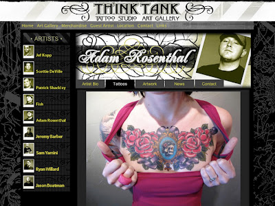 Tattoo Website