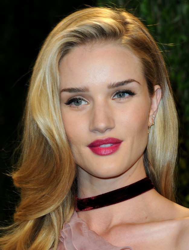 Rosie Huntington-Whiteley pos oscares maquilagem 2013, oscars party makeup 2013