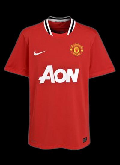 Manchester United New Jersey Man Utd Home Shirt 2011-2012