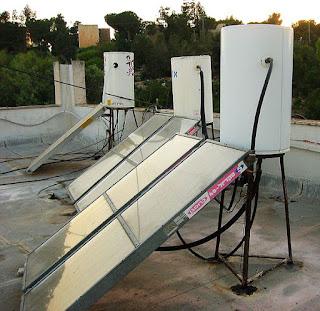 Solar Water Boiler System
