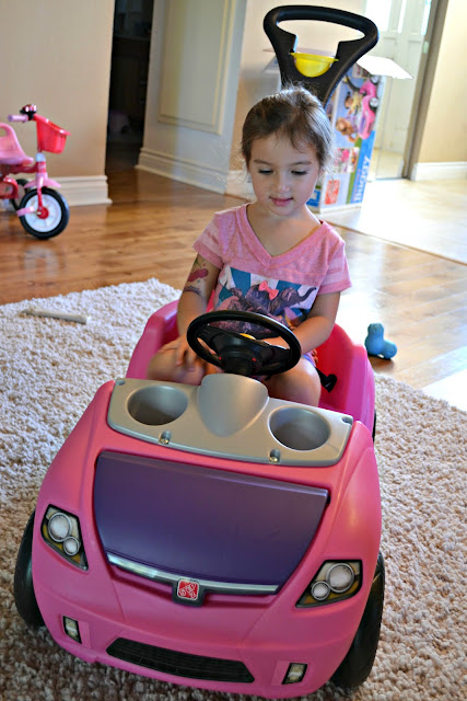 Step2 Whisper Ride II 2 Buggy review, Step2 Test Drive mom, Step2 Whisper Ride 2