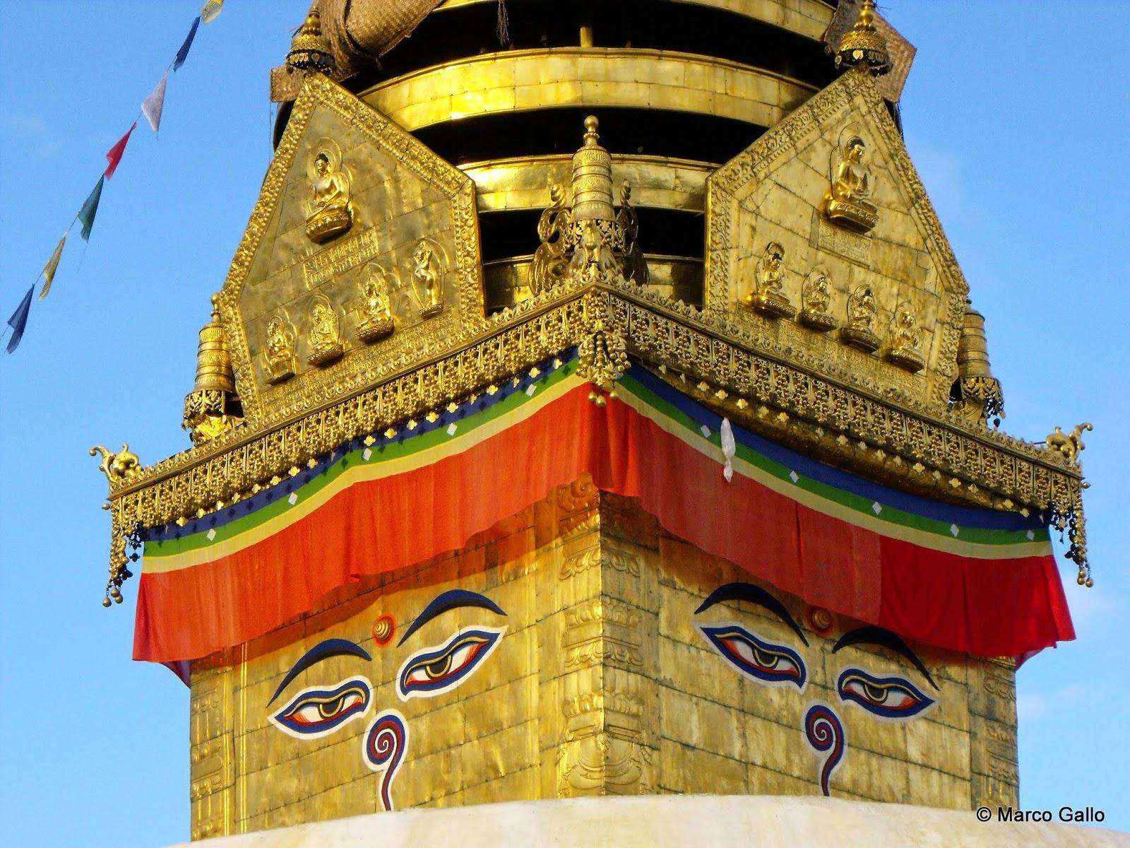 Templo de los monos, Katmandu. Nepal