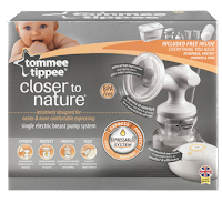 Tommee Tippee Closer to Nature Single Electric Breast Pump System