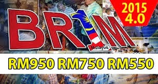 BR1M 4 0 naik kepada RM950 dibayar pada tahun 2015