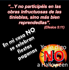 Dile no a Halloween(recursos en ingles y español)//Say no to Halloween (Resources in Eng&Spanish)