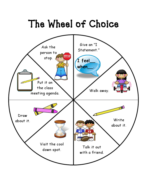 Counseling Resources for Professionals and Parents: The Wheel of ...