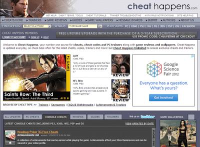 6 Best Free Game Cheat Codes Sharing Websites Online