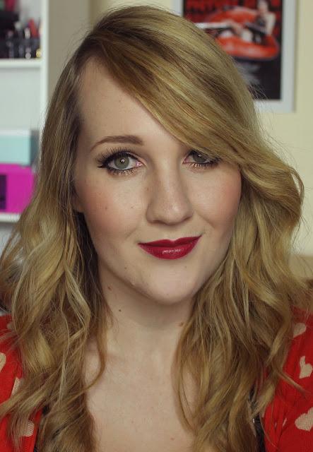 Jordana Cabaret lipstick swatches & review