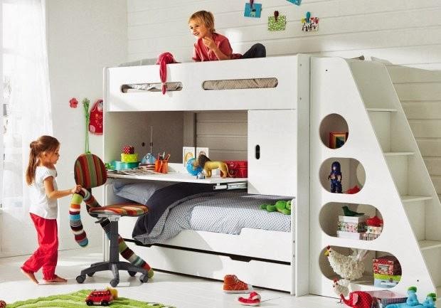Dormitorios infantiles muy peque os c mo decorar una - Dormitorios infantiles ninos ...