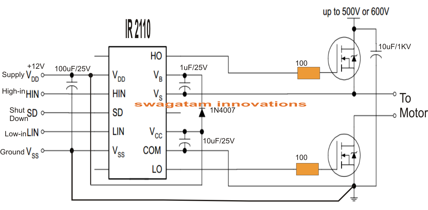 single phase variable frequency drive vfd circuit electronic the finalized integrated design of the above circuits be witnessed in the following diagram as drawn by mr vuleek unteeluv