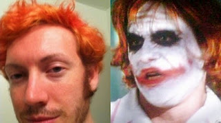 James Holmes, the joker, joker, batman