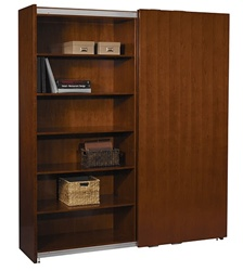 Sorrento Sliding Door Bookcase by Mayline