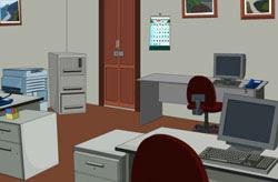 Room Escape Office Cabin