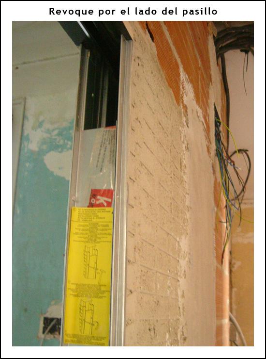 Blog de refohabit reformar piso en barcelona reformas - Como instalar una puerta corredera ...