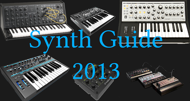 Analog Synth Guide 2013