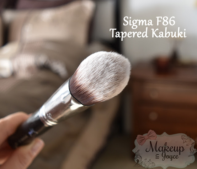 Sigma F86 Tapered Kabuki Brush Review