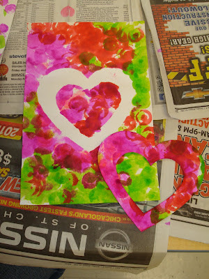 Trinity preschool mount prospect hearts valentine 39 s day for Preschool crafts for february
