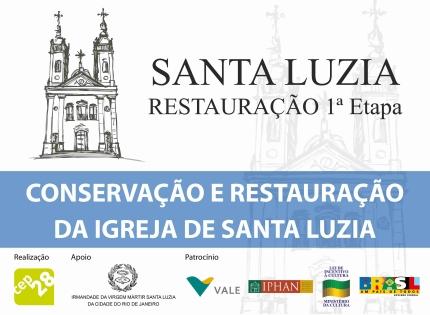 Restauração da igreja de Santa Luzia