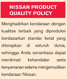 nisan produk quality-policy