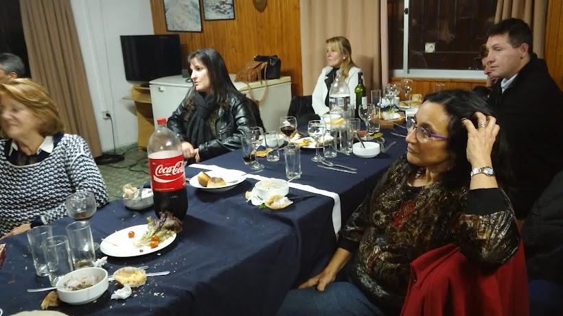 Celebración del Mid-Winter en el Instituto Antártico Uruguayo - 22-6-20