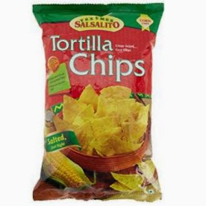 Amazon: Buy Salsalito Tortilla Chips, Salted, 180g at Rs.30