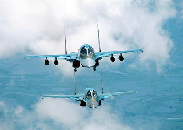 Rusia Siagakan 2 Sukhoi Khusus untuk Assad