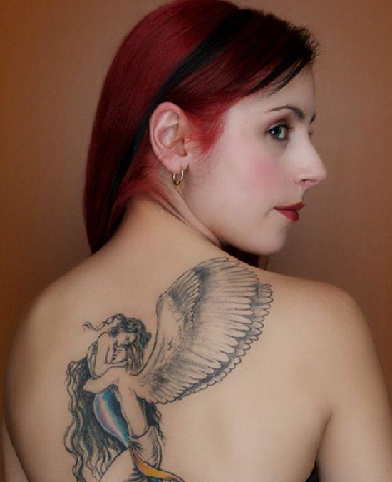gambar tato di punggung wanita perempuan sebelumnya untuk gambar tato ...
