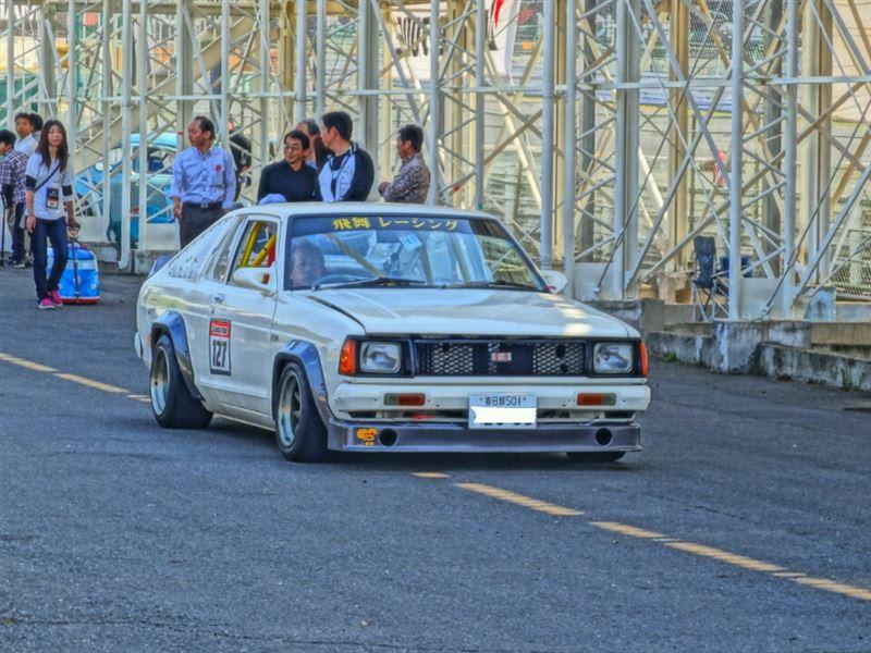 Nissan Sunny B310, japońskie sportowe samochody, wyścigowe, sport, klasyczne, stare, jdm