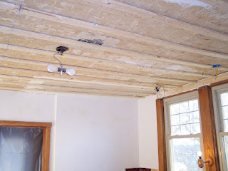Kitchen Remodeling - Install Armstrong Wellington Ceiling tiles