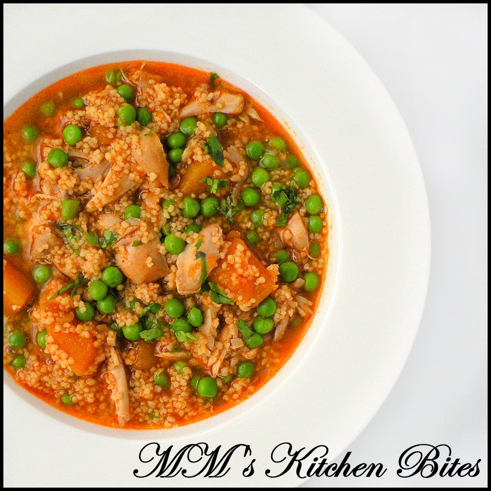 Moroccan Chicken And Vegetable Soup Mmskitchenbites