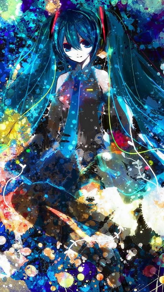 Miku 3 Anime  Galaxy Note HD Wallpaper