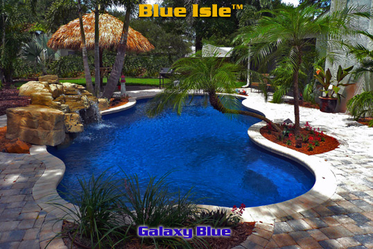 BlueIsle GX 2 Lg Inground Fiberglass Pools
