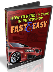 How To Render Cars in Photoshop Fast and Easy (DVD)
