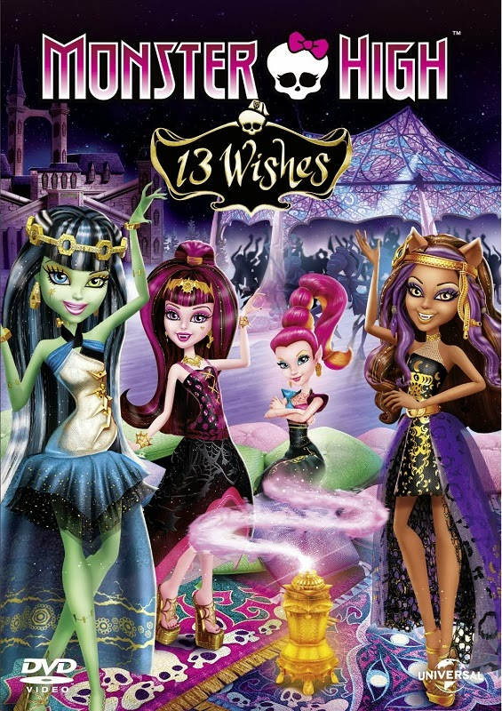 Monster High: 13 Wishes (2013) Poster