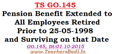 TS GO.145,Pension Benefit, All Employees
