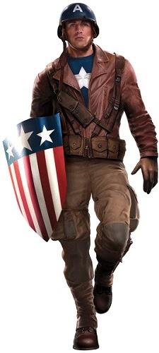 Kostum Captain America Ad-Hoc Rescue