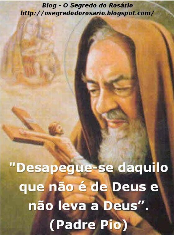 O Segredo Do Rosário Conselho Santo Padre Pio