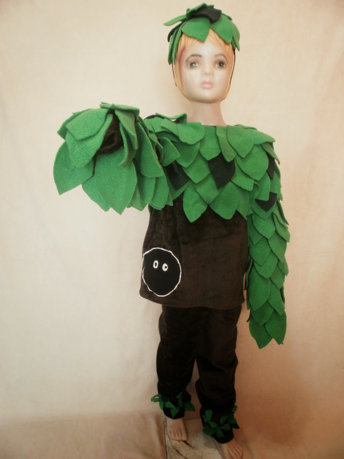 Disfraz de árbol para adulto - Imagui